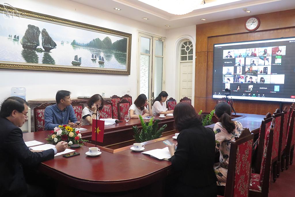 """Hội thảo trực tuyến """"Triển vọng du lịch Việt Nam - Ấn Độ hậu Covid-19"""""""