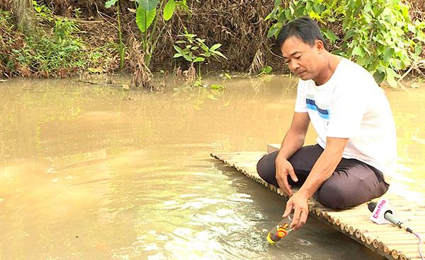 Cá lóc bú bình - sản phẩm thú vị của du lịch Cồn Sơn (Cần Thơ)