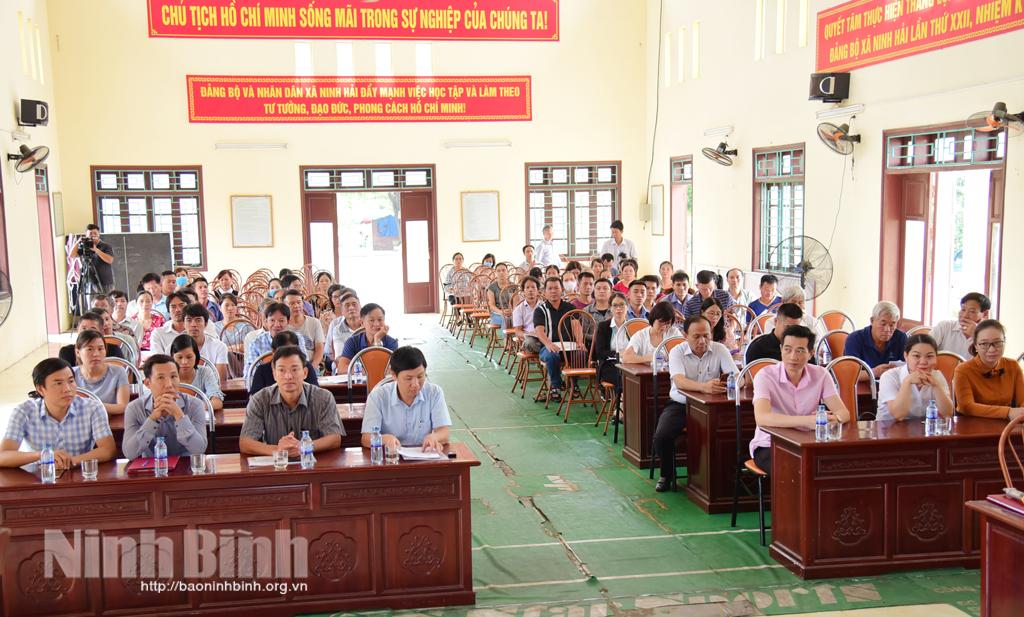 Ninh Bình: Cơ sở lưu trú, kinh doanh dịch vụ du lịch được tuyên truyền về bảo tồn, phát huy giá trị Di sản