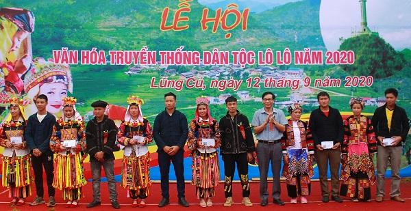 Lễ hội văn hoá truyền thống dân tộc Lô Lô (Hà Giang)