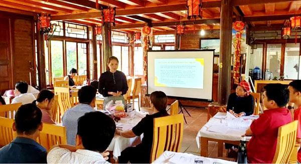 Bắc Hà (Lào Cai): 25 học viên được đào tạo nâng cao truyền thông về du lịch