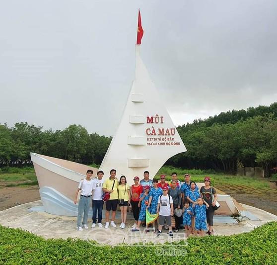Công nhận Khu du lịch Mũi Cà Mau là Khu du lịch cấp tỉnh