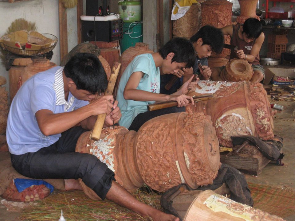 Làng mộc Kim Bồng (Quảng Nam) - dấu ấn những người thợ tài hoa