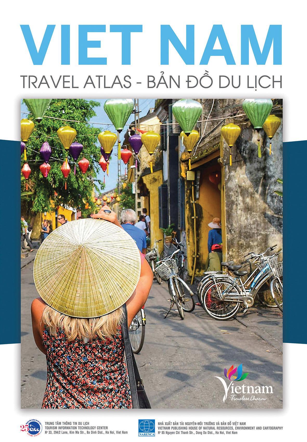 """Khám phá Việt Nam qua ấn phẩm """"Bản đồ du lịch Việt Nam – Vietnam Travel Atlas 2020"""""""
