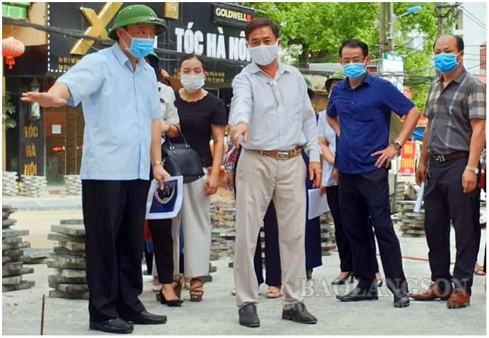 Lạng Sơn: Xây dựng tuyến phố đi bộ an toàn, văn minh, hiện đại