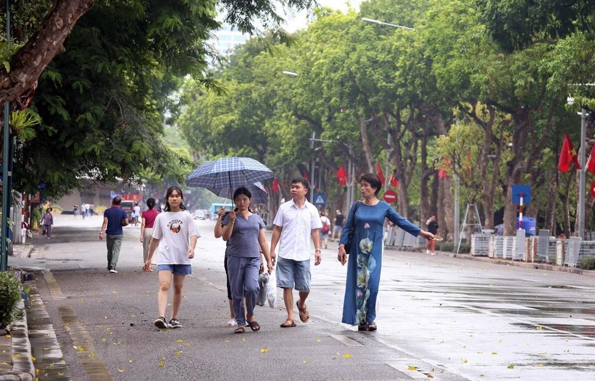 Các không gian đi bộ Hoàn Kiếm khôi phục hoạt động từ ngày 18/9