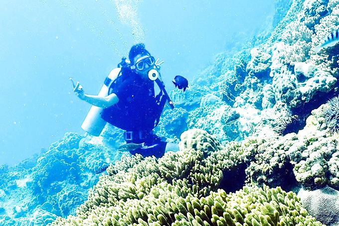 Đến Nha trang khám phá đại dương xanh