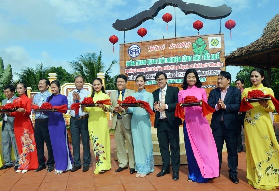 Hội An: Khai trương điểm tham quan làng rau Trà Quế