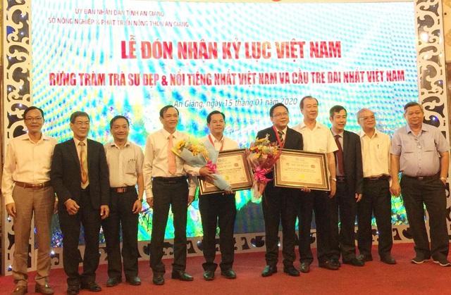 An Giang đón nhận 2 kỷ lục về rừng tràm Trà Sư