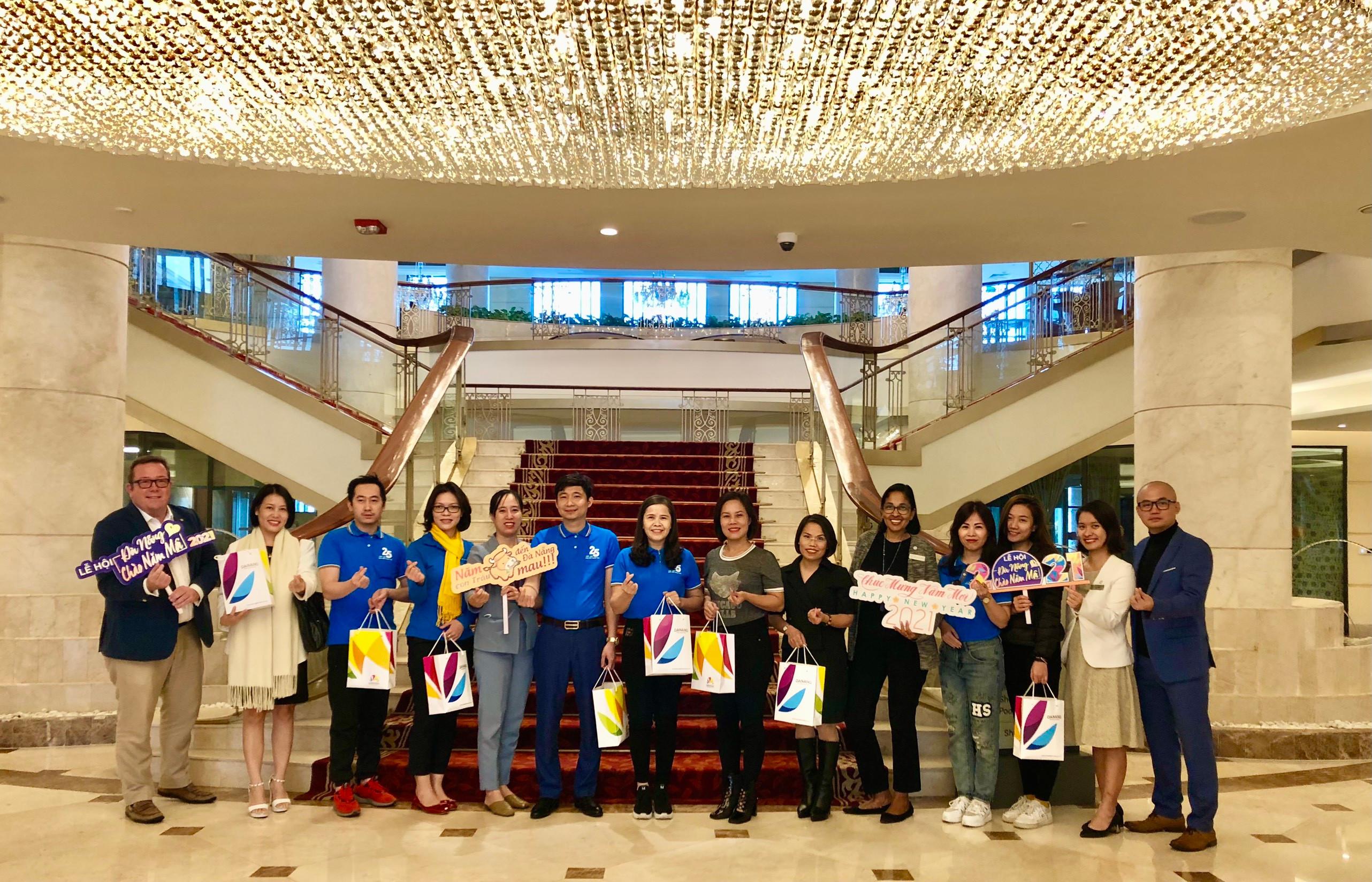 Du lịch MICE Đà Nẵng khởi động đầu năm với 1.000 khách