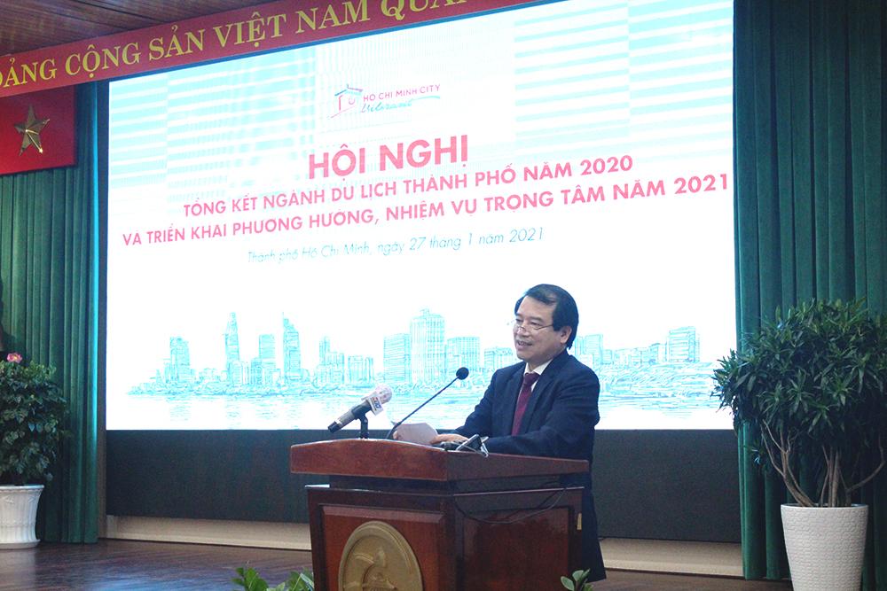Phó Tổng cục trưởng Hà Văn Siêu: TP. Hồ Chí Minh cần tiếp tục phát huy vai trò của một địa phương trọng điểm trong liên kết, kích cầu du lịch