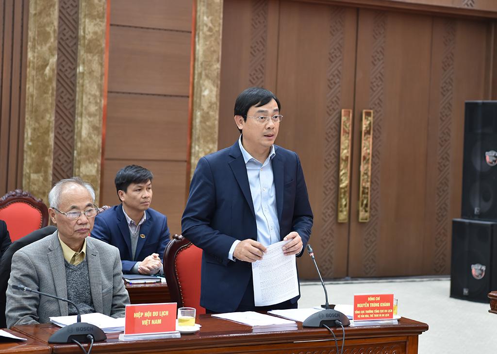 Tổng cục trưởng Nguyễn Trùng Khánh: Du lịch Hà Nội cần phát triển các sản phẩm đặc thù, tăng cường ứng dụng công nghệ, nâng cao năng lực cạnh tranh