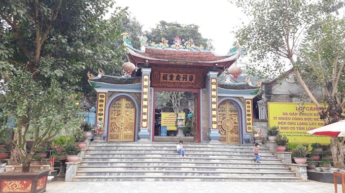 """Bảo Hà (Lào Cai)- Ngôi đền thiêng thờ """"Thần vệ quốc"""" vùng biên ải"""