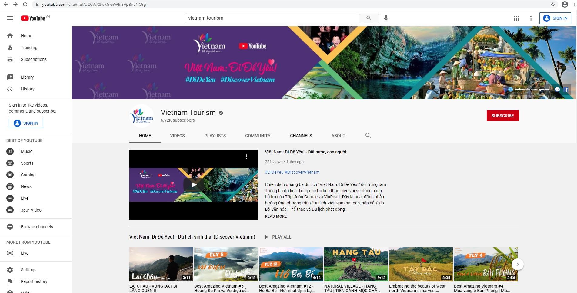 Theo bước chân các nhà sáng tạo nội dung Youtube khám phá vẻ đẹp chân thực và sống động của Việt Nam