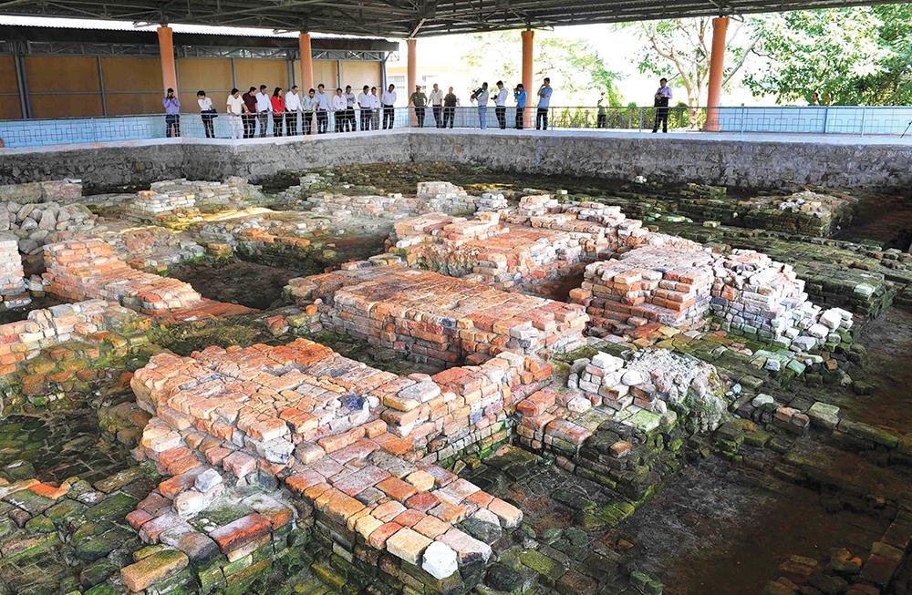 Bảo quản, tu bổ, phục hồi Di tích quốc gia đặc biệt Óc Eo - Ba Thê (tỉnh An Giang)
