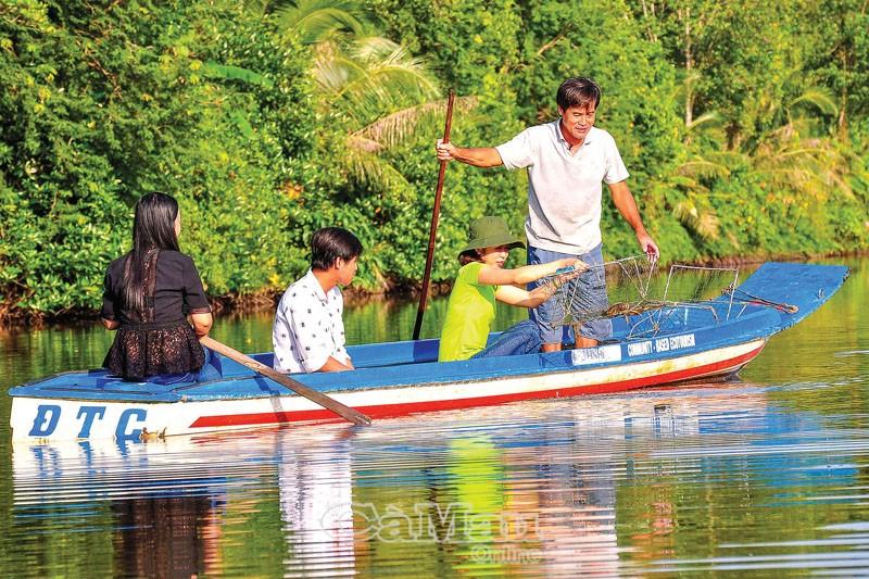 Cà Mau: Nâng chất du lịch cộng đồng