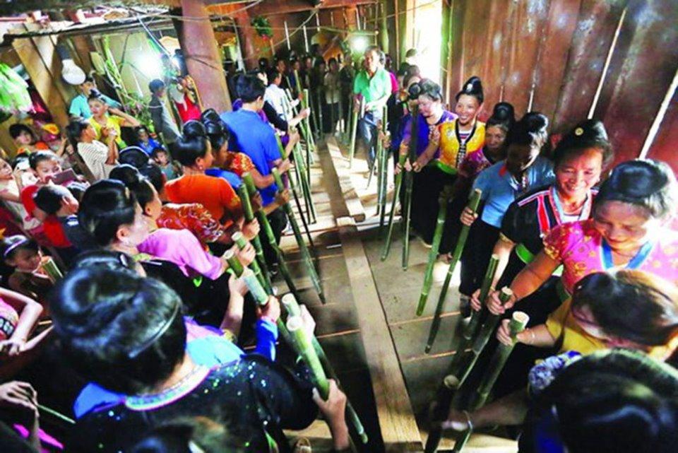 Độc đáo lễ hội tạ ơn của đồng bào dân tộc Kháng ở Điện Biên