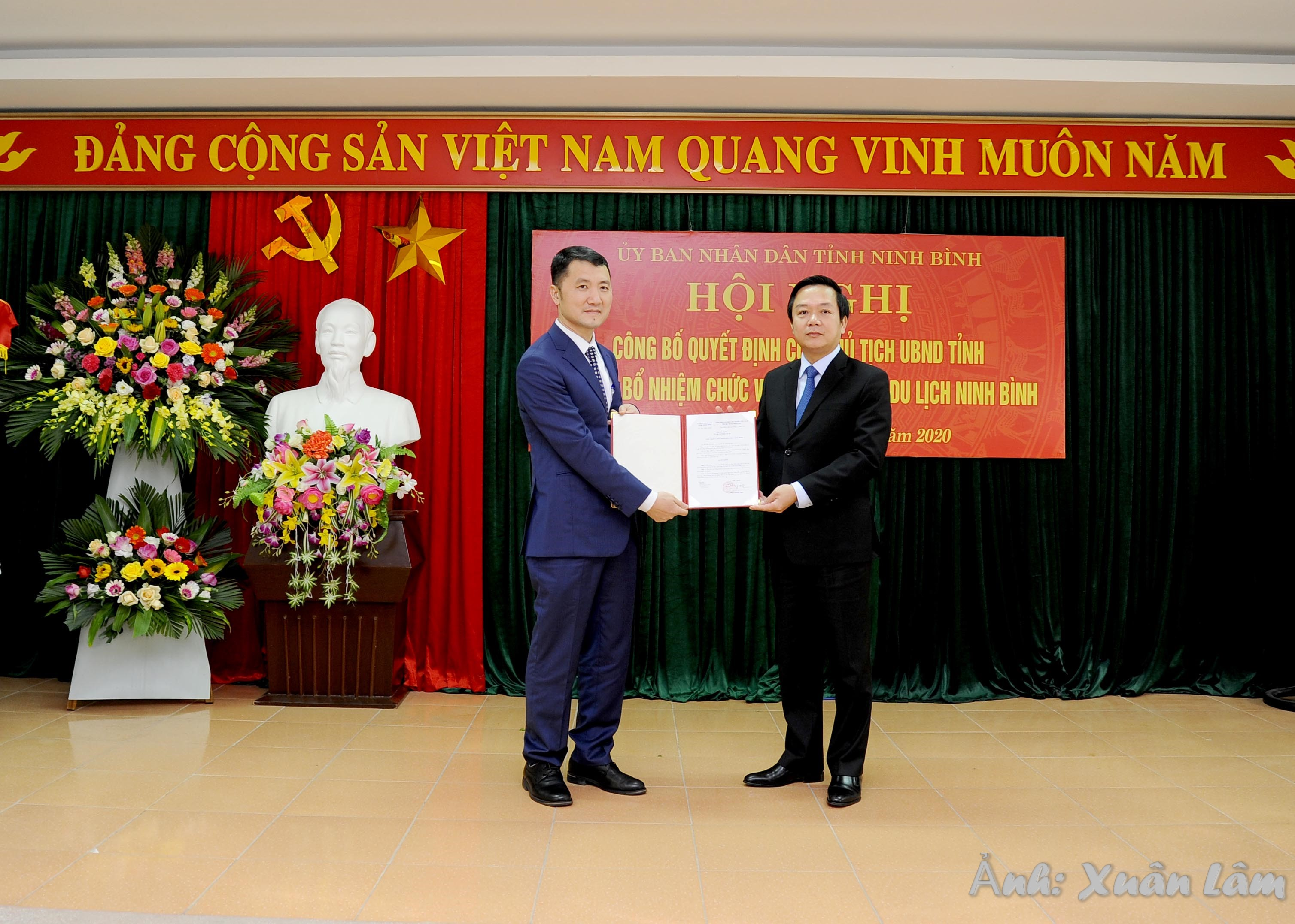 Ninh Bình công bố Quyết định bổ nhiệm Giám đốc Sở Du lịch