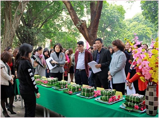 Hội thi Gói bánh chưng mừng Xuân Tân Sửu 2021