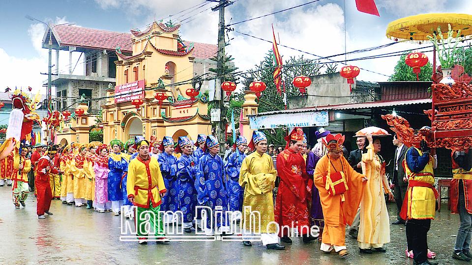 Tống Xá (Nam Định) - Vùng đất cổ lưu giữ những giá trị văn hóa làng nghề truyền thống