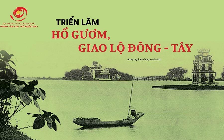 """Triển lãm trực tuyến: """"Hồ Gươm, giao lộ Đông - Tây"""""""