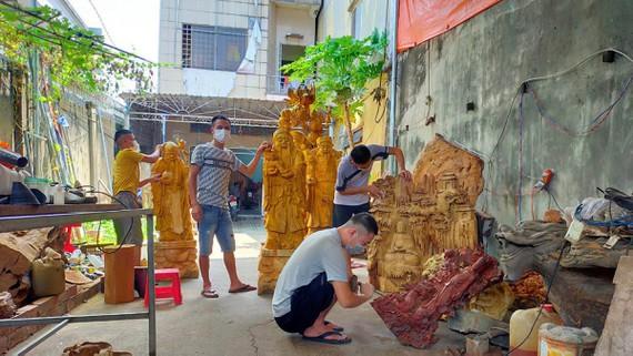 Đồng Nai: Làng nghề xoay xở giữa mùa dịch