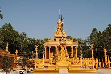 Vĩnh Long: Nghệ thuật tạo hình độc đáo chùa Phù Ly 1