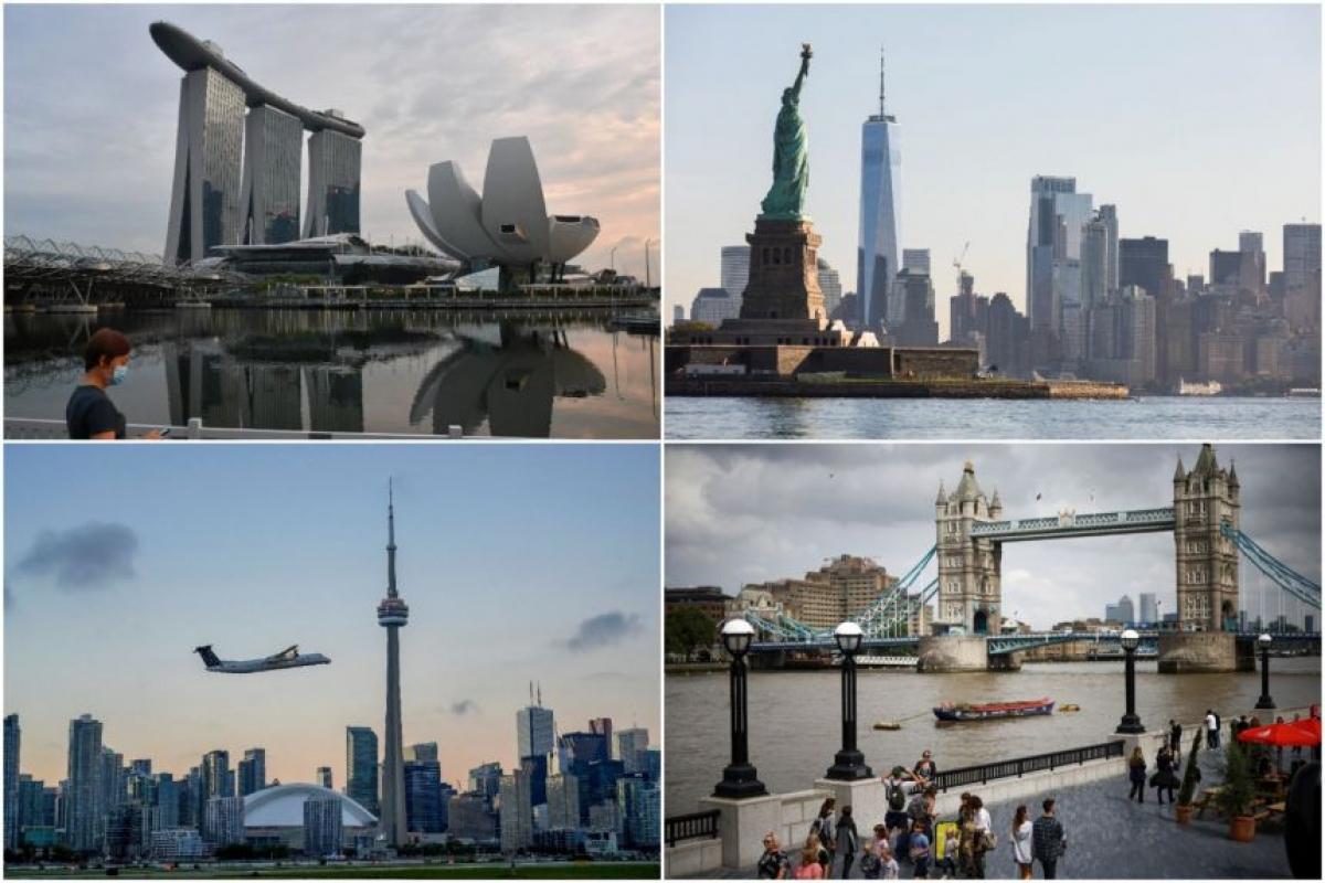 Singapore cấp phép nhập cảnh cho hàng nghìn khách quốc tế trong ngày đầu tiên