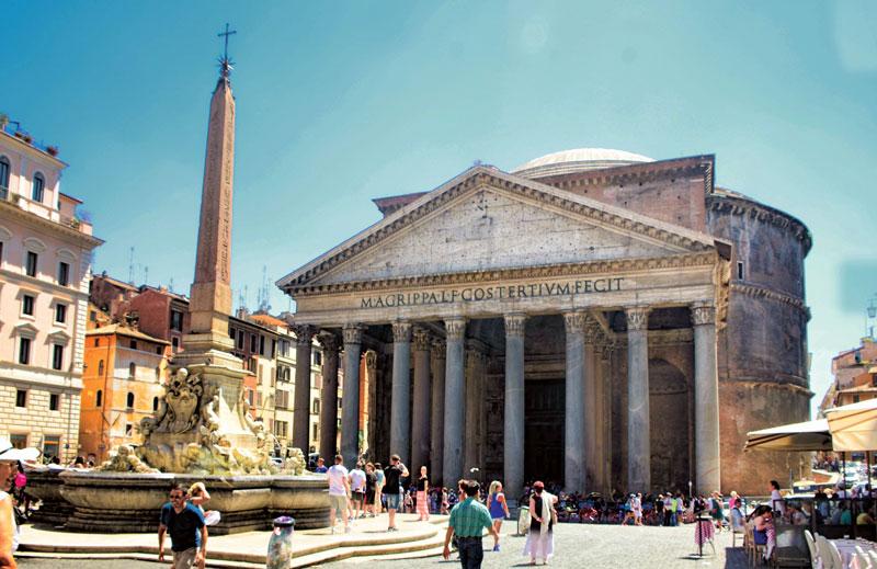 Pantheon - kiệt tác kiến trúc La Mã cổ đại