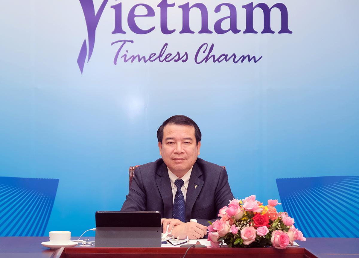Phó Tổng cục trưởng Hà Văn Siêu: Ứng dụng công nghệ số hỗ trợ hoạt động giáo dục, đào tạo nghề du lịch, góp phần phục hồi thị trường lao động