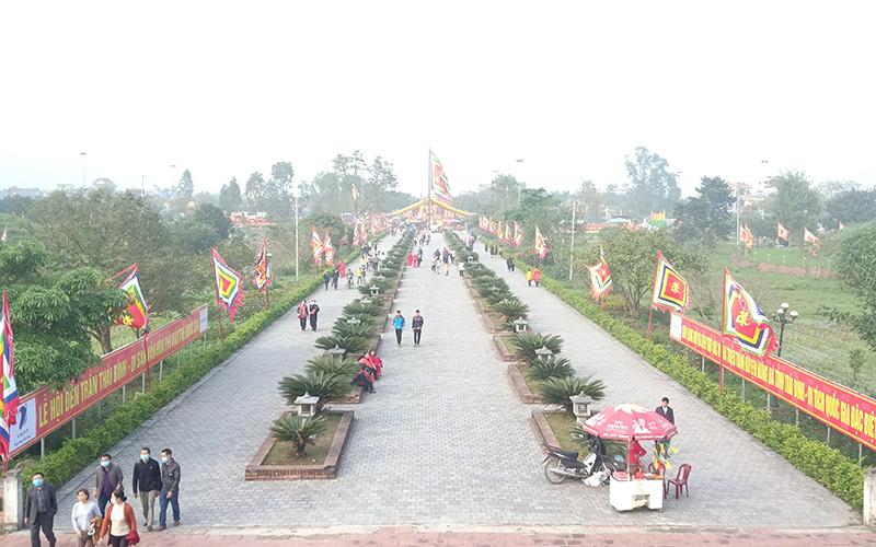Phục hồi Di tích Quốc gia đặc biệt Khu lăng mộ và đền thờ các vị vua Trần ở Thái Bình