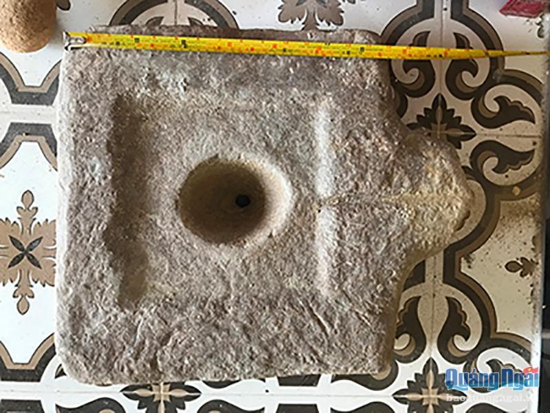 Phát hiện hiện vật Chăm hàng nghìn năm tuổi ở Quảng Ngãi