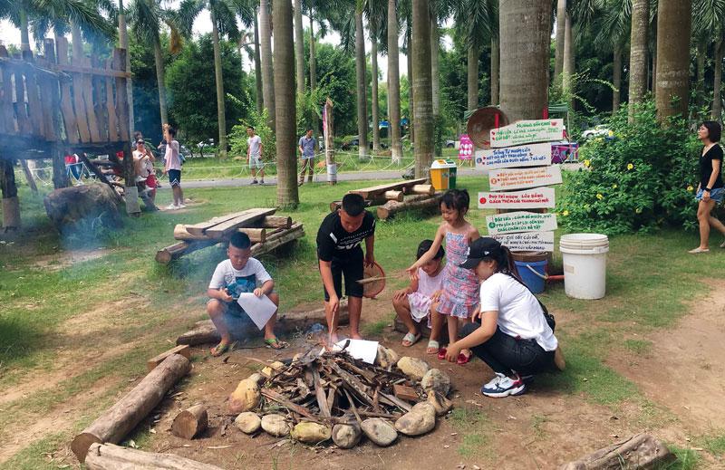 Hà Nội: Sân chơi phiêu lưu - không gian sáng tạo dành cho trẻ em