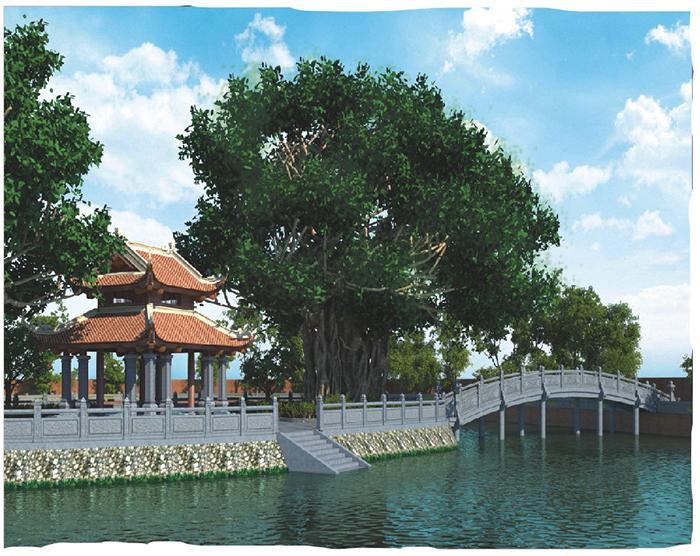 Chuẩn bị di dời hiện vật, đồ thờ tại gò Kim Châu đến chùa Ngâu