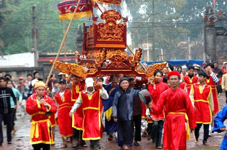 Vĩnh Phúc: Nét độc đáo trong lễ hội xã Đại Đồng