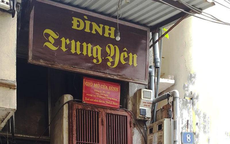 Hà  Nội: Tận dụng tối đa cấu kiện cổ và cũ khi tu bổ đình Trung Yên