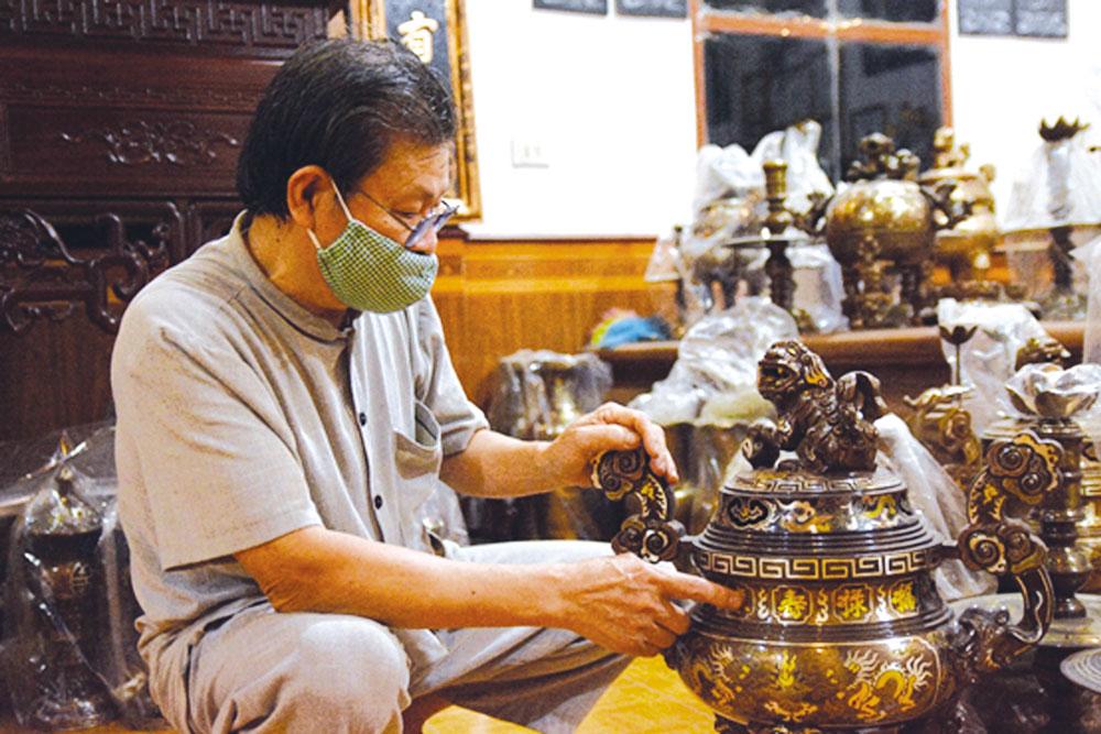 Bắc Ninh: Góp sức gìn giữ tinh hoa làng nghề Đại Bái