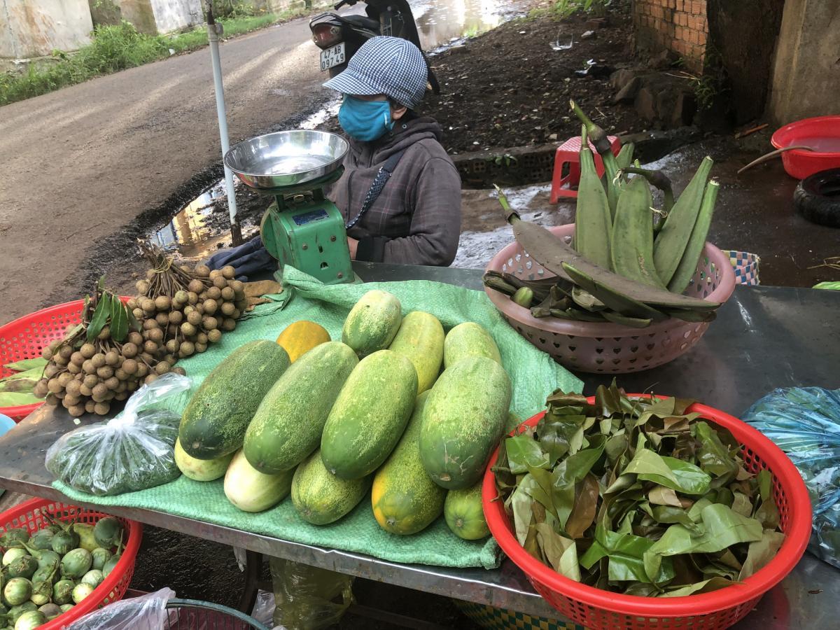 Đắk Lắk: Đậm đà hương vị rau rừng