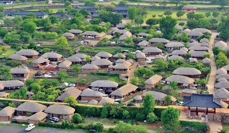 Làng cổ Naganeupseong: Một điển hình về bảo tồn di sản ở xứ Kim chi