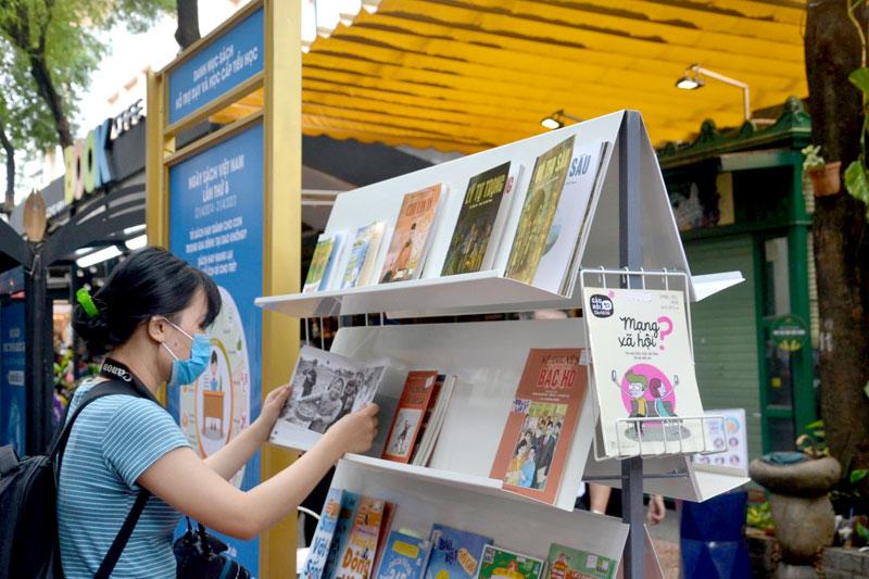 Ngày 09/10, Đường sách TP Hồ Chí Minh mở cửa trở lại