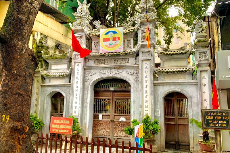 Hà Nội: Chùa Vĩnh Trù - di tích lịch sử của Thủ Đô