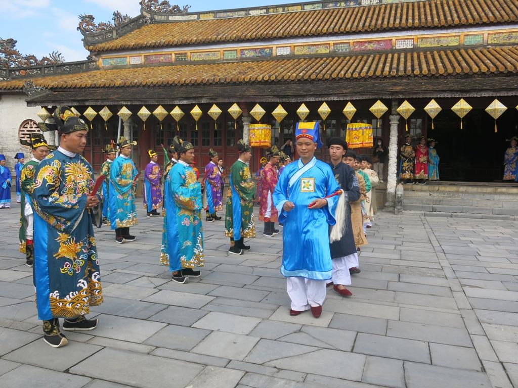 Thừa Thiên Huế: Tái hiện lễ Nguyên đán thời Nguyễn