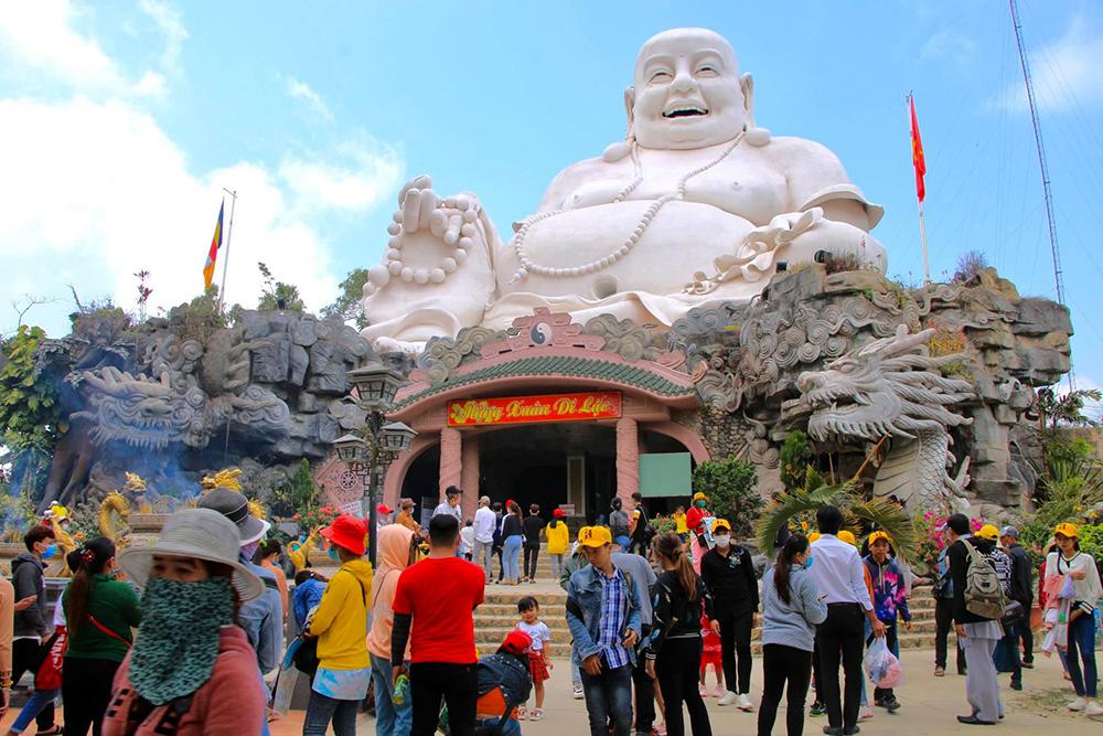 An Giang đón khoảng 400.000 lượt khách trong dịp Tết Nguyên đán 2021