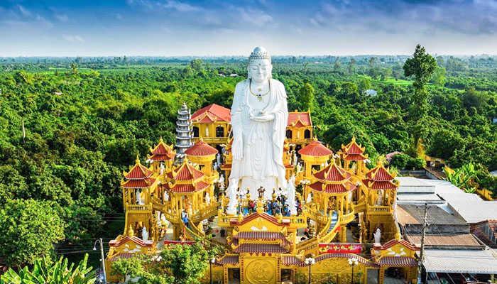 Chùa Phước Thành – Điểm hẹn du lịch tâm linh ở Cù Lao Giêng