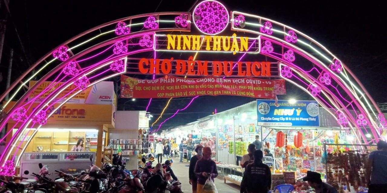 Chợ đêm du lịch Ninh Thuận