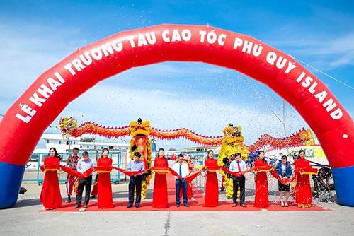 Bình Thuận: Khai trương tàu cao tốc Phú Quý Island với nhiều khuyến mãi hấp dẫn