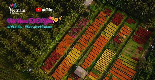 """Clip """"Việt Nam – Điểm đến Văn hóa và Ẩm thực"""" ra mắt, đưa du khách hòa vào không khí an nhiên, thư thái của mùa Xuân"""