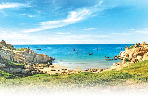 Bình Thuận: Hòn Cau viên ngọc thô giữa biển xanh