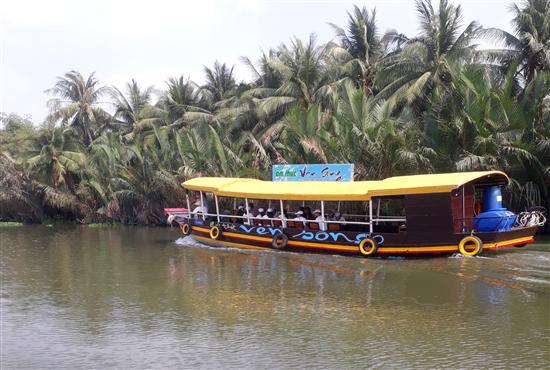 Trà Vinh ra mắt sản phẩm du lịch mới tuyến đường sông