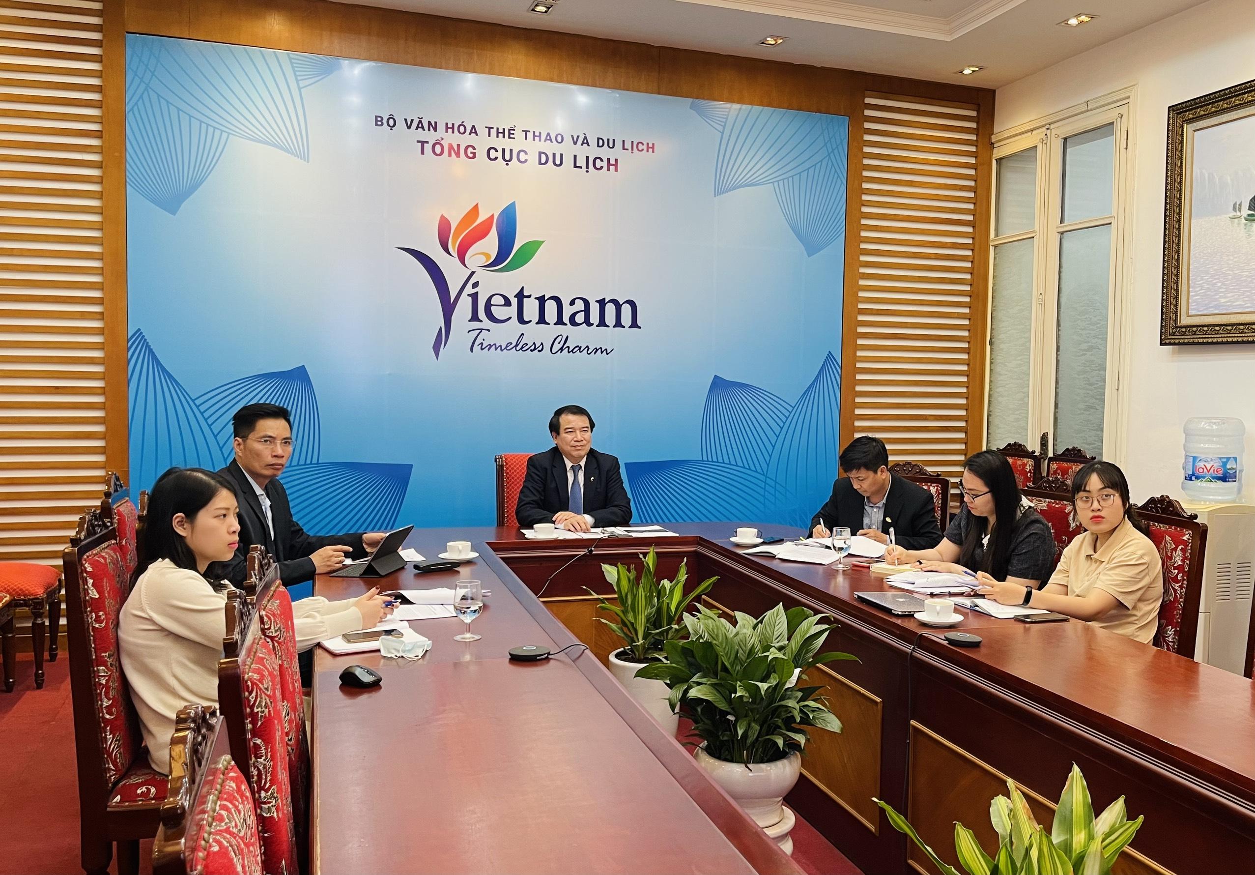 Phó Tổng cục trưởng Hà Văn Siêu làm việc với Dự án Planet Happiness